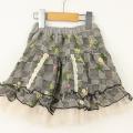【セール10%OFF】Souris(スーリー) リバーシブルスカート ブラック 100cm 110cm 120cm 130cm 140cm