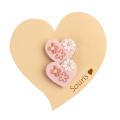 【セール5%OFF】(秋冬)Souris(スーリー) ハートマジックポニー2個セット ピンク F     【おまかせ配送で送料お得】