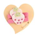 Souris(スーリー) 苺クリップピン2個セット ピンク F     【おまかせ配送で送料お得】◆