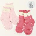 【セール10%OFF】(秋冬)Souris(スーリー) チェリー ソックス 靴下 13-15 16-18      【おまかせ配送で送料お得】