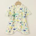 【セール30%OFF】baby Cheer(ベイビーチア) Alpesコンビ肌着 ブルー 50cm〜60cm     【おまかせ配送で送料お得】
