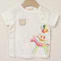 【セール20%OFF】Sense of Wonder(センスオブワンダー) ブレーメンTシャツ オフホワイト 80cm 90cm    【おまかせ配送で送料お得】