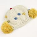 【セール30%OFF】Love&Peace&Money(ラブ&ピース&マネー) ポップコーンニット帽 きなり(ECRU) 48cm-52cm 52cm-56cm