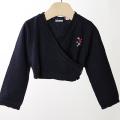 【在庫処分セール50%OFF】ROOM SEVEN  Karly knit cardigan ニットカーディガン 紺 80cm