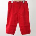 【在庫処分セール50%OFF】ROOM SEVEN  Pina pants コーデュロイパンツ 赤 74cm 【おまかせ配送で送料お得】