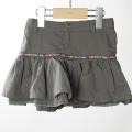 【在庫処分セール70%OFF】oilily Sabrina skirt Q10116F フリルミニスカート グレー 92cm