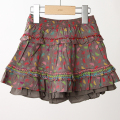 【在庫処分セール50%OFF】ROOM SEVEN  Sorella skirt 4402 スカート 茶 80cm