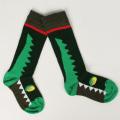 【在庫処分セール60%OFF】UBANG(アヴァン) 靴下 crocodile walkie talkie グリーン 12cm-14cm(21-24) 15cm-18cm(25-28)    【おまかせ配送で送料お得】