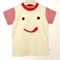 【在庫処分セール50%OFF】ALOHALOHA(アロハロハ) ペロちゃんTシャツ半袖 赤 100cm【おまかせ配送で送料お得】