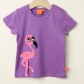 【セール15%OFF】LIPFISH (リップフィッシュ) flamingo半袖Tシャツ ラベンダー 86cm-92cm 98cm    【おまかせ配送で送料お得】