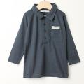 【在庫処分セール70%OFF】Je suis en CP!(ジュスイオンセーペー) ポロシャツ Polo ダークグレイ 2才 【おまかせ配送で送料お得】