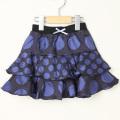 【在庫処分セール50%OFF】LaLa Dress (ララドレス) スカート リリー 100cm 紺