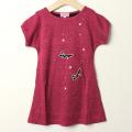 【在庫処分セール50%OFF】LaLa Dress (ララドレス) シンデレラワンピース ピンク 100cm 110cm