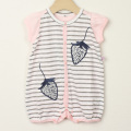 【在庫処分セール50%OFF】LaLa Dress (ララドレス) イチゴ刺繍ロンパースギフトボックス ピンク 80cm