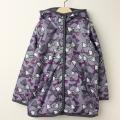 【セール15%OFF】LaLa Dress (ララドレス) 宝石リボンのフード付きリバーシブルコート ピンク 110cm 120cm    【送料無料】