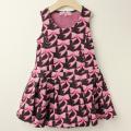 【セール15%OFF】LaLa Dress (ララドレス) ララリボンジャンパードレス ピンク 110cm 120cm    【送料無料】