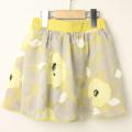 【セール15%OFF】LaLa Dress (ララドレス) インナーパンツ付きオパールスカート イエロー 110cm 120cm 【送料無料】