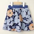 【セール15%OFF】LaLa Dress (ララドレス) インナーパンツ付きオパールスカート ネイビー 110cm 120cm 【送料無料】