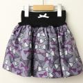 【セール15%OFF】LaLa Dress (ララドレス) リボン柄タフタスカート ピンク 110cm 120cm    【送料無料】