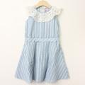 【セール10%OFF】LaLa Dress (ララドレス) 高原のワンピース ブルー 110cm 120cm     【送料無料】