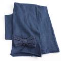 【在庫処分セール60%OFF】(秋冬)American Outfitters(アメリカン・アウトフィッターズ) SCARF マフラー 紺