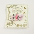 bijoux&bee(ビジューアンドビー) スモールフラワーのヘアクリップ(2個入り) ピンクドット Free     【おまかせ配送で送料お得】  ◆