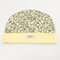 ninita (ニニータ) アヒル柄丸帽子 黄色 40cm 【おまかせ配送で送料お得】◆