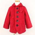 【在庫処分セール50%OFF】(秋冬)TAPPET(タペット) フリースマリンジャケット 赤 90cm 100cm