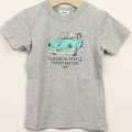【セール30%OFF】TAPPET(タペット) ワーゲンTシャツ グレー 100cm     【おまかせ配送で送料お得】