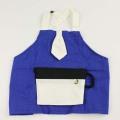 【セール30%OFF】(春夏)WHIP CREAM(ホイップクリーム) ポケッタブルカップエプロン ブルー Baby(70cm-90cm)