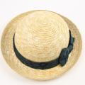 【セール10%OFF】WHIP CREAM(ホイップクリーム) 花柄レースリボン付き麦わら帽子 ベージュ 48cm 50cm