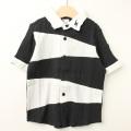 【セール20%OFF】MoL(モル) オニのシャツ イナズマネイビー ブラック 100cm 110cm  【送料無料】