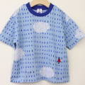 【セール10%OFF】MoL(モル) ミズタマリTシャツ ブルー 100cm 110cm    【おまかせ配送で送料お得】
