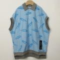 【セール10%OFF】MoL(モル) フェザリーパイルポロ ブルー 110cm 120cm