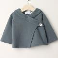 【在庫処分セール60%OFF】Eponime(エポニーム) ジャケット裏起毛 藍色 1才(12M)