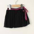 【在庫処分セール50%OFF】D.fesense(ディーフェセンス)メッシュスカート付きブルマ ブラック M(〜90cm)
