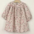 【在庫処分セール60%OFF】Rose&Theo(ローズ&テオ) 襟つきワンピース 花柄 12ヶ月 24ヶ月