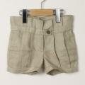 【在庫処分セール60%OFF】helene cousin bebe(エレ-ヌクザンベベ)Fifi shorts ショートパンツ ベージュリネン 2才 3才 4才