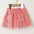 【在庫処分セール60%OFF】helene cousin bebe Valentine skirt ミニスカート チュール&コーラルフラワー 2才 3才 4才