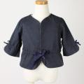 【在庫処分セール60%OFF】helene cousin bebe(エレ-ヌクザンベベ)Violette jacket ジャケット 紺 2才 3才 4才