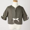 【在庫処分セール60%OFF】helene cousin bebe(エレ-ヌクザンベベ)Violette jacket ジャケット 茶 2才 3才 4才