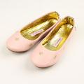 【在庫処分セール60%OFF】MOON ET MIEL(ムーン・エ・ミエル) Ballet Shoesバレエシューズ ピーチ(ピンク) 25(15.5cm) 26(16cm)