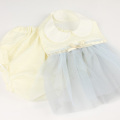 Leapepe(レアペペ) ビブ・ブルマセット DRESS  ホワイト F(70cm‐80cm)     【送料無料】◆