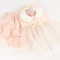 Leapepe(レアペペ) ビブ・ブルマセット DRESS  ピンク F(70cm‐80cm)     【送料無料】◆