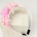 【セール30%OFF】SHAMROCLOTHING(シャムロックロージング) フラワーモチーフ付きカチューシャ ピンク フリー