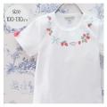 【2020年春夏新作】panpantutu(パンパンチュチュ) いちご ネックレス トップス 半袖 Tシャツ トップス 110 120 130     【おまかせ配送で送料お得】