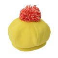【セール10%OFF】cucciolo(クッチョロ) フランネルベレー帽 マスタード F(50cm〜54cm)