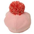 【セール10%OFF】cucciolo(クッチョロ) フランネルベレー帽 ピンク F(50cm〜54cm)