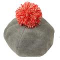【セール10%OFF】cucciolo(クッチョロ) フランネルベレー帽 グレー F(50cm〜54cm)
