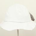 【セール10%OFF】Lily ivory(リリイアイボリー) ビッグリボンハット オフホワイト 54cm 56cm    【おまかせ配送で送料お得】
